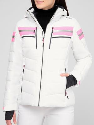 Куртка горнолыжная белая | 5608074