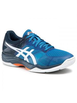 Кросівки сині з логотипом GEL-TACTIC 1071A031-402 | 5738348