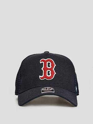 Бейсболка синя з логотипом | 5738807