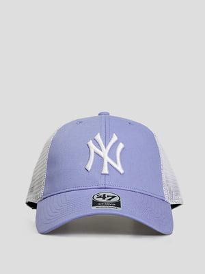 Бейсболка сиреневая с логотипом | 5738813