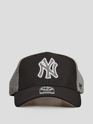 Бейсболка черная с логотипом | 5738819
