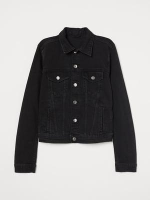 Куртка чорна | 5742648