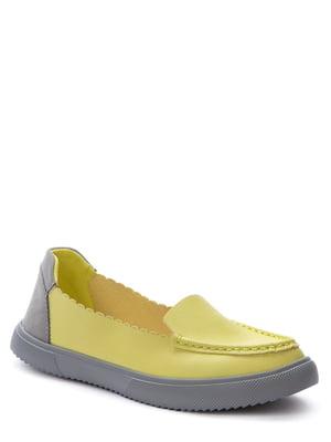 Мокасини жовті   5743274