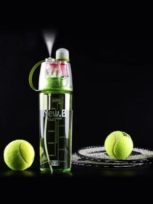 Бутылка спортивная для воды с распылителем New B (600 мл) | 5738106