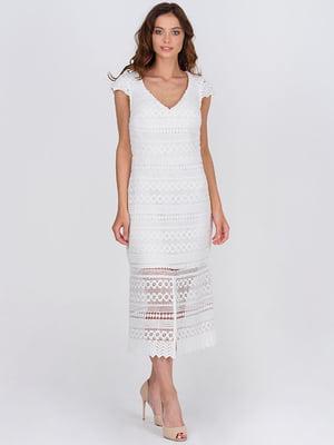Сукня молочного кольору | 5743518