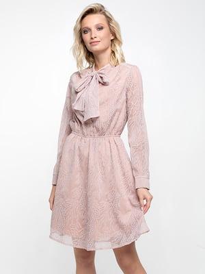Платье пудрового цвета   5743516