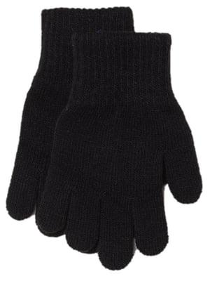 Перчатки черные | 5711352
