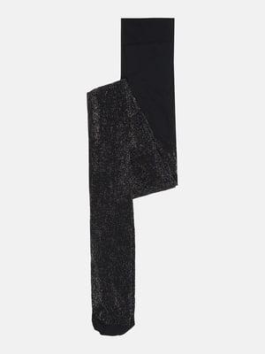 Колготки чорні з блиском | 5724419