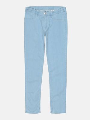 Джинсы голубого цвета | 5724487