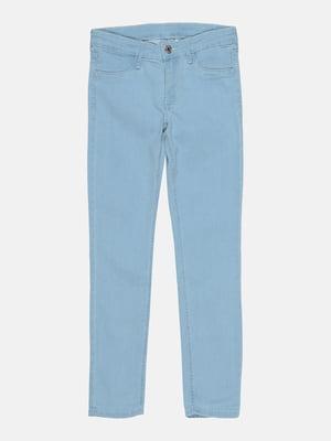 Джинсы голубого цвета | 5734507