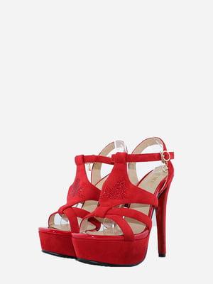 Босоніжки червоного кольору | 5716083