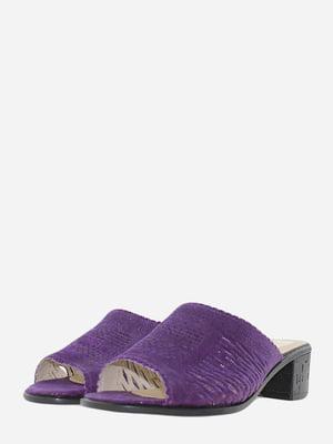 Шльопанці фіолетові   5729062