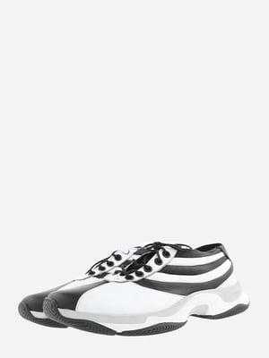 Кросівки чорно-білі | 5743192