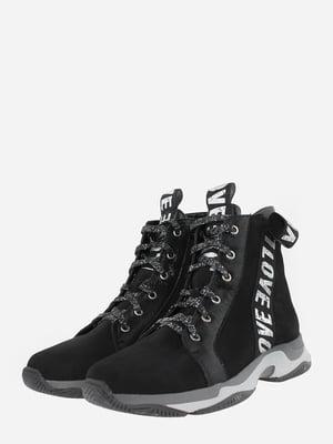 Ботинки черные | 5710222