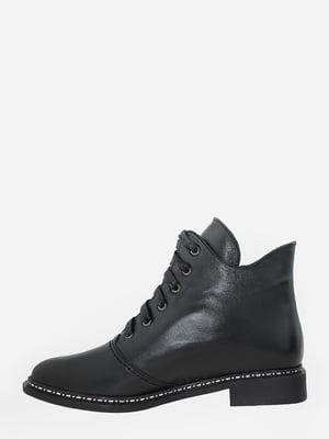 Черевики чорні з логотипом   5742039