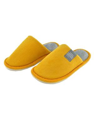 Капці жовті | 5743681