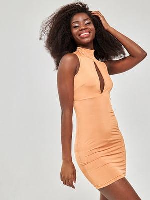 Сукня теракотового кольору | 5743747