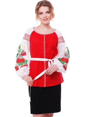 Вишиванка біло-червона | 3712563