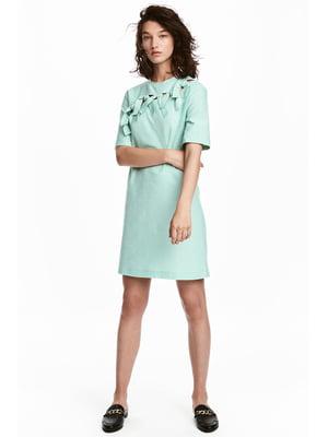 Платье светло-бирюзового цвета | 5744066