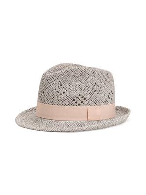 Шляпа светло-бежевая | 5744728