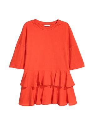 Футболка оранжевого цвета | 5744745