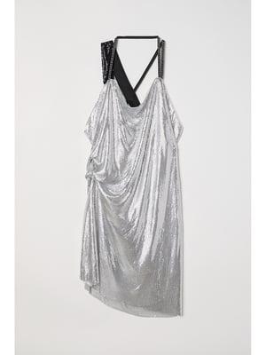 Платье серебристого цвета | 5744918
