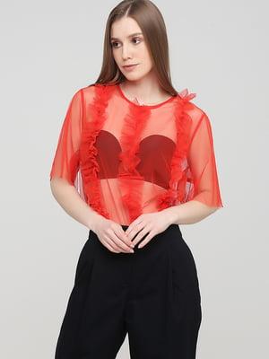Блуза красная | 5745239