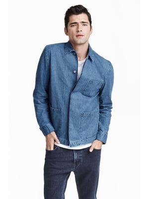 Куртка голубая   5047342