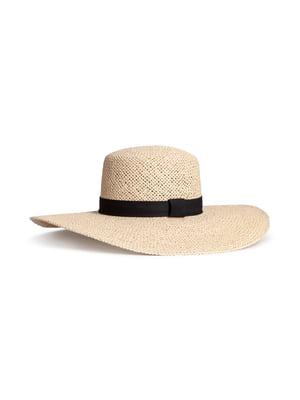 Шляпа бежевая | 5744020