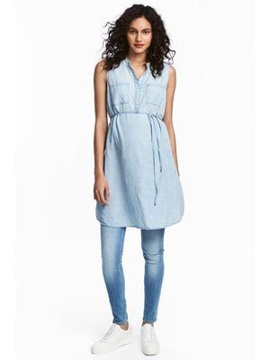 Платье голубое | 5744451