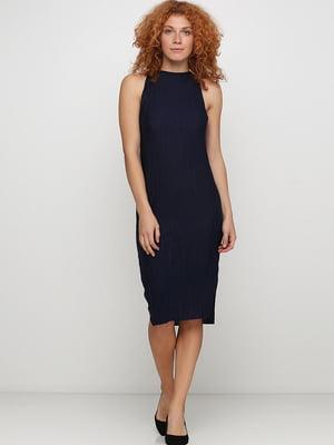 Платье темно-синее | 5267434