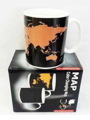 Чашка-хамелеон «Карта мира» (300 мл) | 5738042