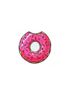 Коврик пляжный «Пончик» (140 см) | 5738101