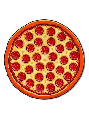 Коврик пляжный «Пицца» (143 см) | 5738102
