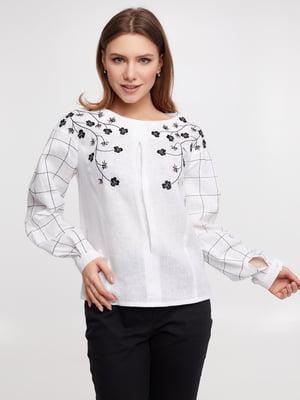 Блуза белая   5743756