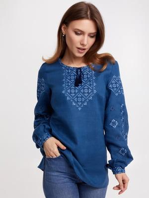 Вишиванка синя | 5743764