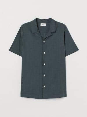 Рубашка темно-зеленая | 5745408
