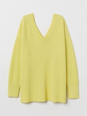 Пуловер желтый   5745534