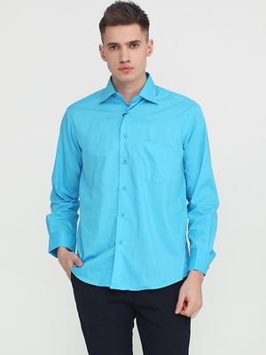 Рубашка голубого цвета   5746984