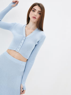 Пуловер голубой   5747057