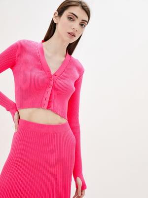 Пуловер рожевий | 5747059