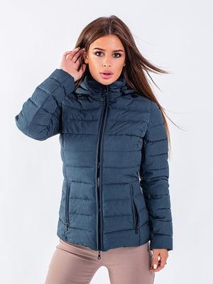 Куртка синя | 5749621