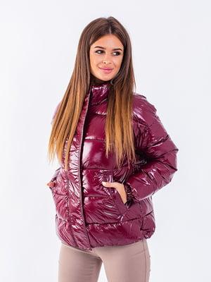 Куртка бордова | 5749581
