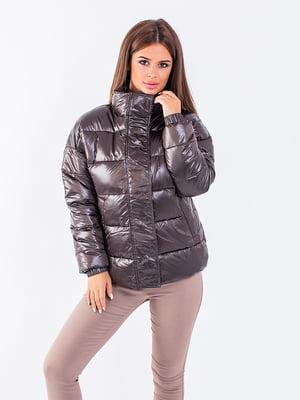 Куртка темно-коричнева | 5749632