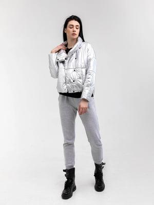 Куртка срібляста | 5749589