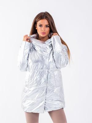 Куртка срібляста | 5749606