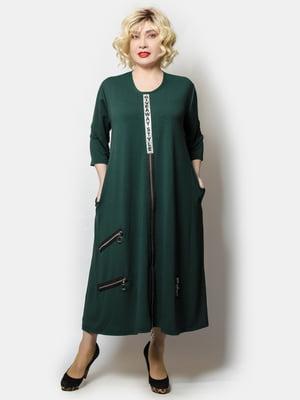 Платье темно-зеленое | 5749979