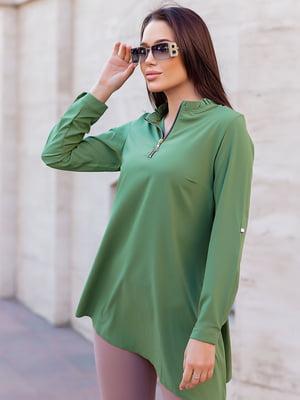 Блуза зеленая | 5749985
