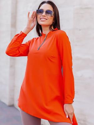 Блуза оранжевая   5749987