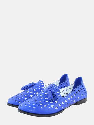 Балетки синие | 5737745